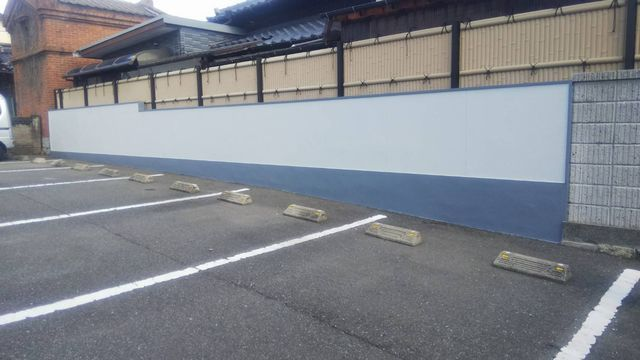 小倉市北区にて 外壁塗装