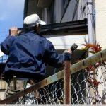 北九州市にて外壁塗装 ボンタイル葺き戻し