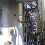 北九州市にて外壁塗装 ~中塗り~